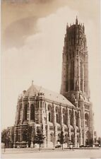 RIVERSIDE CHURCH REAL PHOTO PC BY SEIDMAN, BUILT WITH ROCKEFELLER MONEY,  NYC
