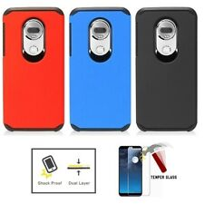 For Motorola Moto G7 Supra / Moto G7 Power, Hard Double Layer Shockproof Case