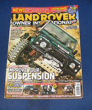 LAND ROVER OWNER INTERNATIONAL AUGUST ISSUE 9 2006 - IMPROVE YOUR SUSPENSION