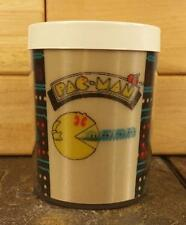 Vtg 1980 Bally Midway Pac-Man Arcade Game Mug Cup Thermo-Serv USA Lenticular 3-D