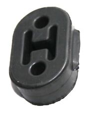Heavy Duty Rubber Exhaust Tail Pipe Mount Bracket Hanger Bushing Insulator Black