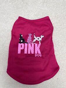 Small Pet Dog Summer Shirts Vest Clothes T-Shirt Coat Apparel USA Lot of Four 4