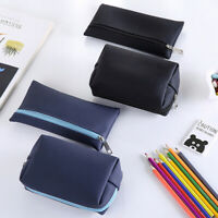 Pencil Pen Case Organizer Storage Large Capacity Pouch Cosmetic Bag With Zipper