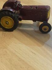 Dinky Toys Massey Harris Maroon Tractor