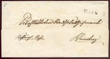 SCHWAEB HALL 1826 VORPHILABRIEF nach KLEINSBERG  +100,-(D1738