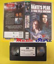 VHS film DANTE'S PEAK LA FURIA DELLA MONTAGNA 1997 UNIVERSAL 70675 (F54**)no dvd