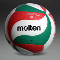 Molten VSM4500 Volleyball Ball Size5 PU Leather Soft Touch Indoor Outdoor Game