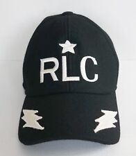 NWT RALPH LAUREN PURPLE LABEL RLC Embroidered Wool BASEBALL CAP Hat One Size