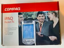 New listing Compaq iPaq Pocket Pc H 3955 64k Color 32 Mb Rom 64Mb Ram With Cd & Charger