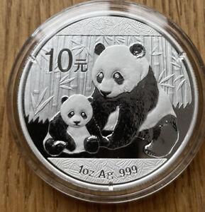 China 10 Yuan 2012  Panda 1oz Silber 999