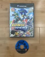 Sonic Riders (Nintendo GameCube) Sega Video Game The Hedgehog - Ships Same Day