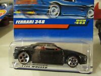 Hot Wheels Ferrari 348 #443!! Black 5 Hole