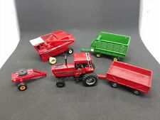 Lot of ERTL Tractor, Harvester and trailers