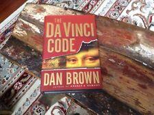 The Da Vinci Code Dan Brown Hardcover 1st Edition April 2003
