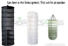 Hanging Dry Rack 8 Tier Hydroponic Grow Tent Herb Bud Plant Clothes Drying Net