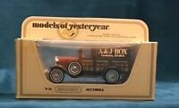 Matchbox Models of Yesteryear Model A Ford Woody Wagon A&J Box