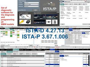 ISTA-D 4.27.13 ISTA-P 3.67.1.006 Programming Diagnostics E, F, G, I, Alpina