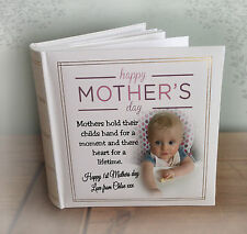 Mothers day or birthday gift, personalised large luxury photo album, photo book.