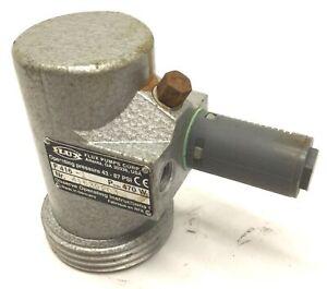 Flux Pumps F 416-1 Ex Explosion Proof Air Motor Operating Press: 43-87 PSI, 470W