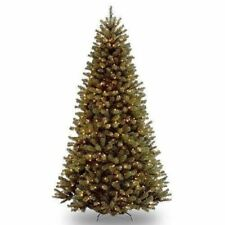 National Tree 9 ft North Valley Spruce Hinged Tree - Green