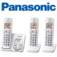 Panasonic KX-TG833SK 1 Link2Cell  Voice Assist Answering Machine 3 Handsets