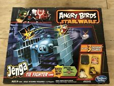 Star Wars Angry Birds JENGA Tie Fighter Game Hasbro 8+ New