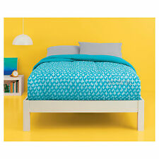 NEW Room Essentials Petal Sun-bleached Teal Color Reversible Comforter XL TWIN