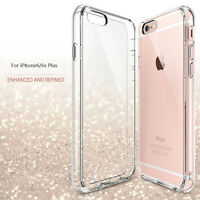 New Slim Transparent Crystal Clear  TPU Case Cover For iphone 6 6s Plus AA