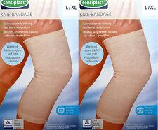 2 Sensiplast Kniebandage L/XL Knieverband Stütze Rheuma Bandage Kniegelenkstütze