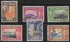 Hong Kong - SG 163-168 - 1941 - Centenary Set of 6 - Used