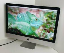 "Apple iMac i5 QUAD 3.4GHz  27"" 240SSD+ 1TB HDD 32GB RAM 2GB 6970M OSX 10.13 (24)"