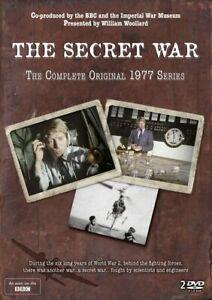 The Secret War: Complete Original Series (1977) BRAND NEW SEALED DVD