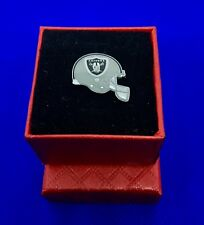 Oakland Raiders Pin Hat Pin Lapel Charm Helmet Emblem Pin NEW