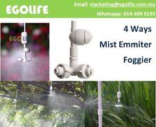 1Set MS8003 Coolnet Pro 4 Way Nozzle Mist Emmitter, Water Spray Fogger, Fog Nozz