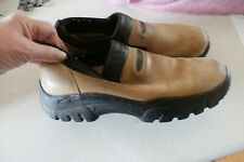 c1f24468ab509b leather tan casual rugged Roper Mens Slip On Shoes 8.5