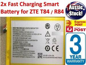 NEW Battery for ZTE T84 Telstra Tough Max, Spark R84 2500mAh Li3825T43P6H755543