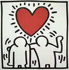 Keith Haring, The Crowd 1989, Plate Signed Lithograph