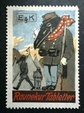 Cinderella Poster Stamp Reklamemarke-E&K Weeping Raven Military -202028