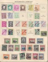 MOZAMBIQUE COMPANY - INTERESTING MINT AND USED COLLECTION ON ALBUM PAGES - Z960