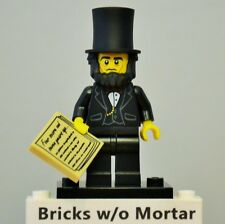 New Genuine LEGO Abraham Lincoln Minifig The Lego Movie 71004