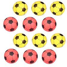 12x Simon SOFTBALL Schaumstoff Ball Fußball Softfußball Größe 20cm gelb und rot