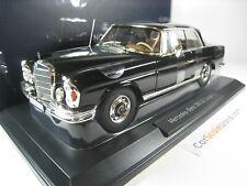 MERCEDES BENZ 280 SE COUPE W108 1969 1/18 NOREV (BLACK)