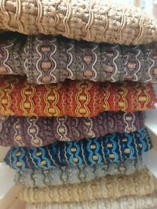 Polyester with Gimp detail Furnishing Braid 20mm wide - various colours - 2metre