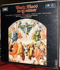 EMI 3-LPs SLS 930 / SAN 195-7: JS BACH - Mass in B Minor - KLEMPERER - 1968 UK