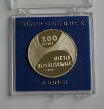More details for 1975 hungary 200 forint proof silver 150th anniversary academy of science