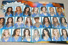 NEW YORK KNICKS CITY DANCERS CHEERLEADERS COMIC BOOK SIGNED PHOTO