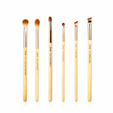 Jessup New 6pcs Bamboo Makeup Brush Set Cosmetic Brushes Kit Make up Tools T141
