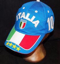 Italy Italia FIFA World Cup Champions # 10 Soccer Futbol Cap Hat Del Piero Totti