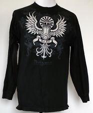 Del Sol Arizona Black Crown w/Wings & Scrolls Color-Change Long Sleeve T-Shirt L