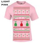 397 Ugly Christmas sweater story Mens T-Shirt xmas gift bb gun pink nightmare